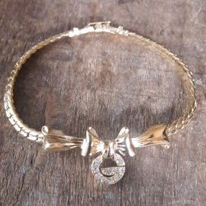 Authentic Vintage Givenchy Logo Bracelet